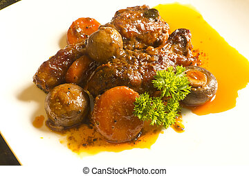 French Coq Au Vin Chicken - French cuisine, Coq Au Vin,...