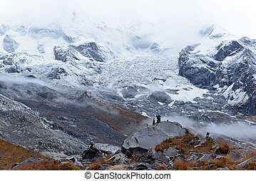 Annapurna Base Camp, Himalaya mountains, Nepal