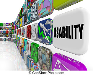 Usability Word Applications Software Program Widgets -...