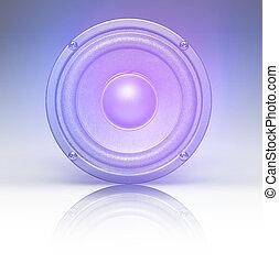 audio speaker concept