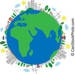 earth planet milieu environ