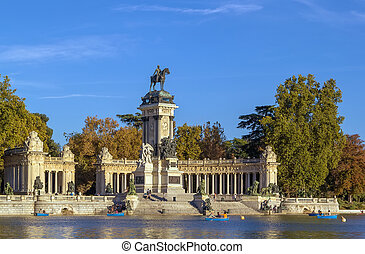 Monument to Alfonso XII, Madrid - The Monument to King...