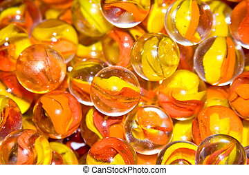 marbles - close up of glass marbles would make a wonderful...