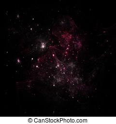 Deep dark space - Nice starry sky or deep dark space and...