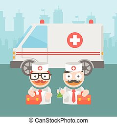medicine doctor ambulance - Medicine doctor ambulance work