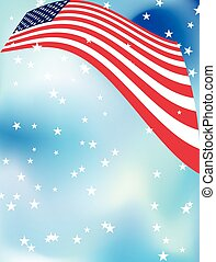 4Th Of July Background Design Vector Art