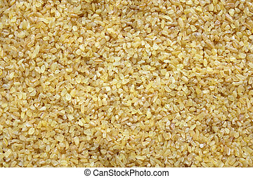 Bulgur wheat background