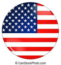 United states flag - Abstract illustration: united states...
