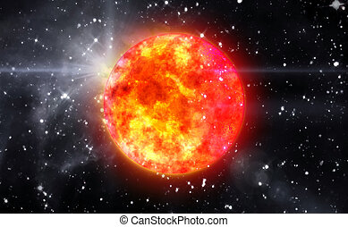 Solar Sun in space