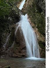 Beusnita - Susara Waterfall in Beusnita National Park