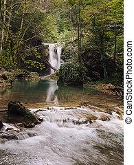 Beusnita - La Vaioaga Waterfall in Beusnita National Park