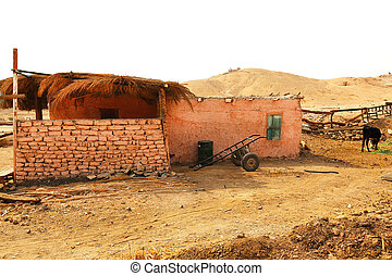 Farm House West Bank Luxor - a farm house on the West Bank...