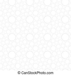 White seamless pattern with circles