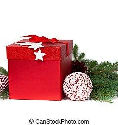kasten, Weihnachten, Geschenk