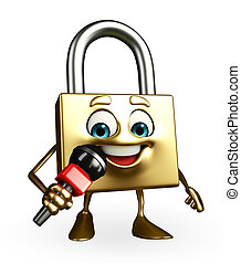 Lock Character with mike
