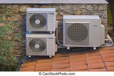 Heating and air conditioning inverters sometimes called heat...