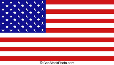 American flag - national background