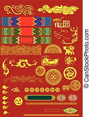 Chinese Vector Illustration Element