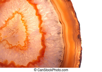 agate texture - very nice orange and white agate texture