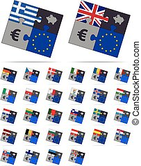 puzzle and save europe euros