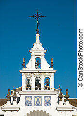 EL Rocio - bell tower of El Rocio