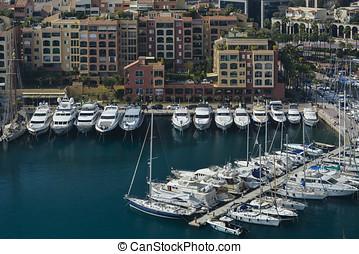 Exploring the Principality of Monaco - MONTE CARLO, MONACO -...