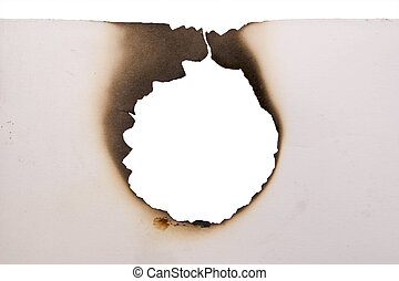hole in a paper