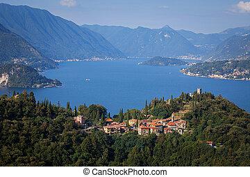 Lake Como, Italy - The Castle of Vezio and Lake Como