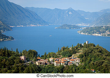 Lake Como, Italy - The Castle of Vezio and Lake Como