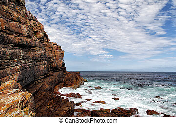 Cape of Good Hope - Cliffs at the Cape of Good Hope, South...