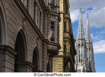 Vienna cityscape - Vienna, Austria