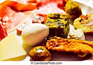 Vegetarian food - A dish of traditional organic vegetarian...