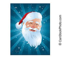 Santa Face - Santa!