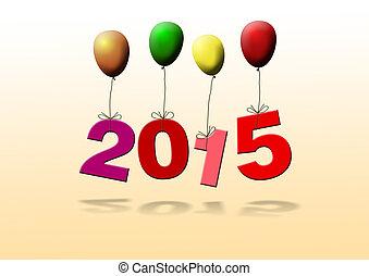 nowy, rok, 2015,