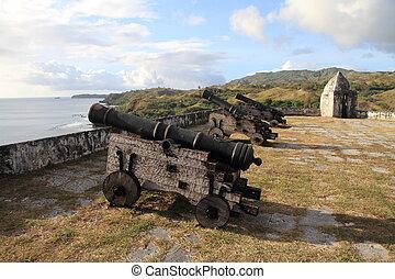 Fort Nuestra Senora de la Soledad in Guam