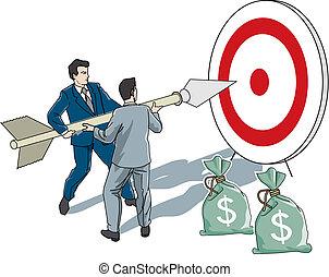 business target - faruk kutlu