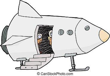 Pilots in Spacecraft