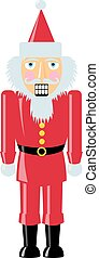 Santa Nutcracker - A nutcracker made to look like Santa...