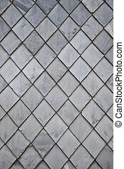 slate rhomb texture - photography of a detailed slate rhomb...