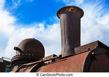 steam locomotive pipe