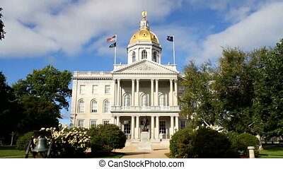 Concord New Hampshire State House - The state house capital...