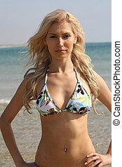 Sexy lady in bikini