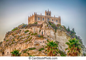 Church of Santa Maria dell'Isola, Tropea, Italy