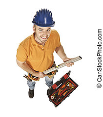 constructor worker and tools