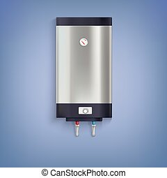 Hot-water tank, chrome plated - Water heater Hot-water tank,...