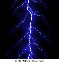 Lightning - High quality computer generated seamless texture...