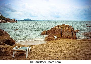 地方, 海, 放松