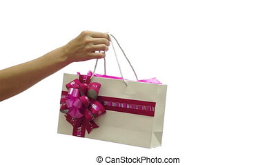 Giving Pink Gift Bag