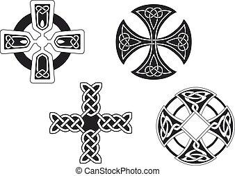 celta, Cruces,