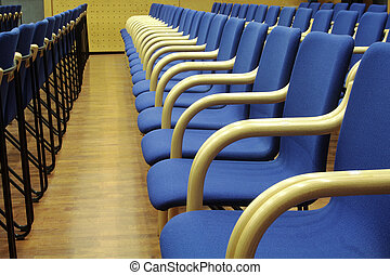 Conference hall - Chairs in conference hall